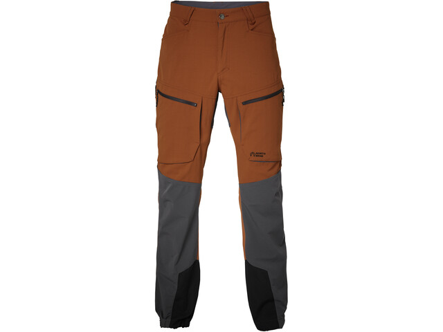 North Bend Trekk Pantalon Homme, red rust